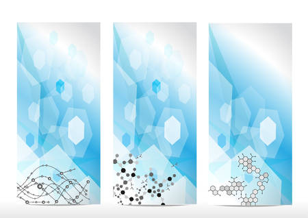 macromolecule: Molecule background Illustration