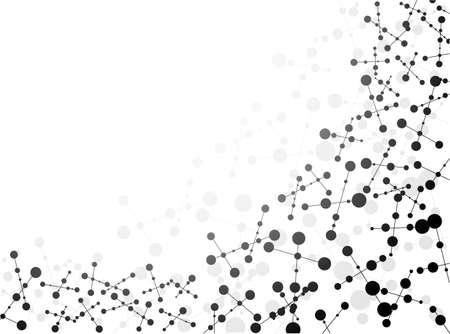 Dna 分子、抽象的な背景
