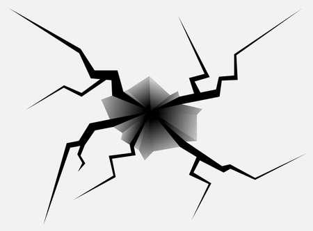 Crack Vector Stock Vector - 24007275