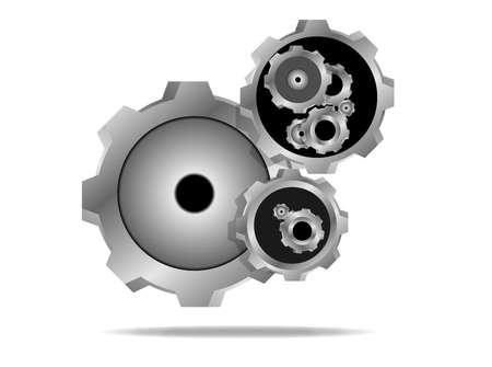 gear icon  Illustration