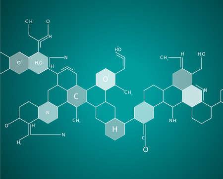 eps10, dna molecule, abstract background Stock Vector - 24621346