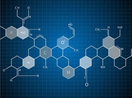 dna 分子の抽象的な背景