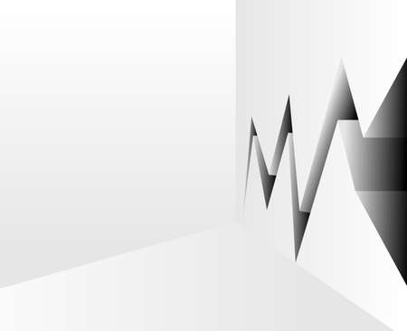 earthquake crack: Crack Vector
