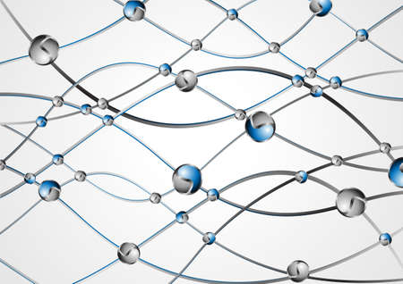 DNA molecule structure background vector illustration Stock Vector - 24900224
