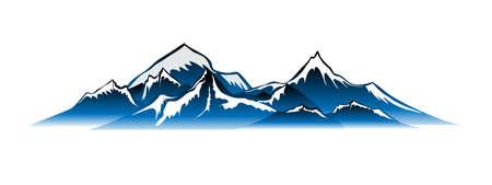 bergen Vector Stock Illustratie