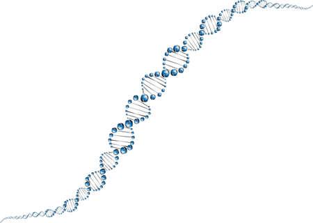 deoxyribose: DNA molecule structure background  vector illustration