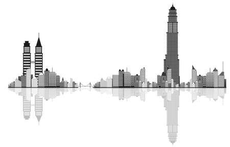 Cityscape vector background  Vector
