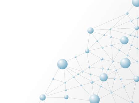 molecula de agua: Ilustración Estructura de la molécula de vectores de fondo