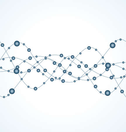 DNA strand against white background   イラスト・ベクター素材