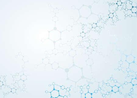 DNA 분자, 추상적 인 배경 스톡 콘텐츠 - 28096858