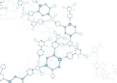 DNA molecule structure background