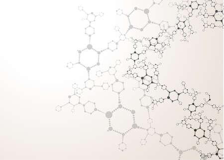 DNA molecule structure background  イラスト・ベクター素材