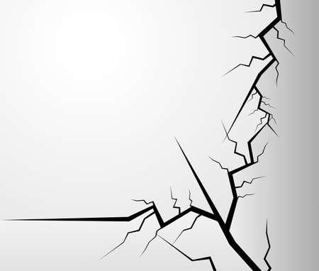 Crack Vector  Vector