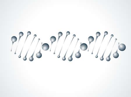 deoxyribose: DNA molecule structure background
