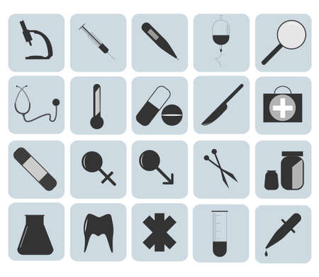 Medical Icons vector illustration Vector