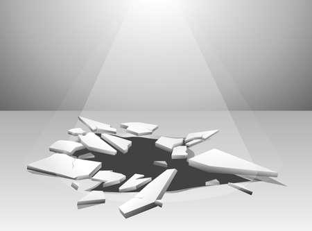 Crack Vector 免版税图像 - 28247463