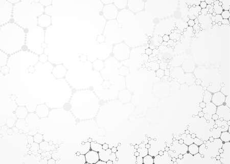 Abstracte moleculen medische achtergrond