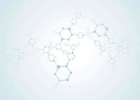 Priorità molecole sfondo medico Archivio Fotografico - 29031550