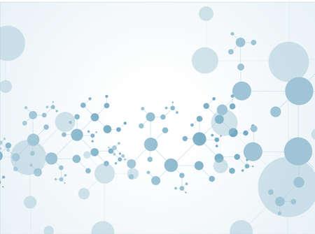 human chromosomes: molecule structure background