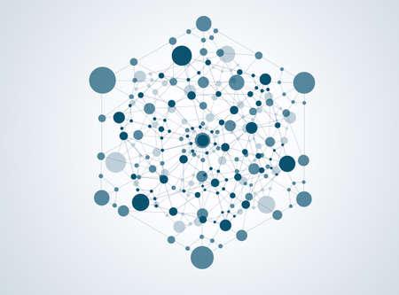 deoxyribose: molecule structure background