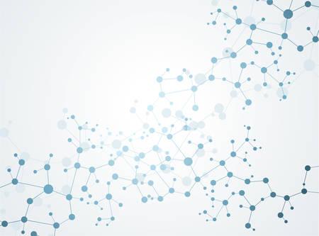 Concept molécules de neurones et vecteur du système nerveux Banque d'images - 34590931