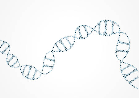 DNA molecule structure background. eps10 vector illustration Vector