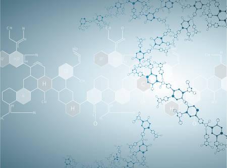 quimica organica: Moléculas Concepto de las neuronas y nervioso vector sistema