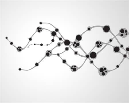 molecule abstract: dna molecule, abstract background