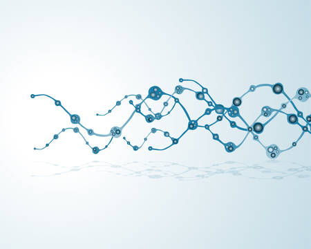 thymine: dna molecule, abstract background
