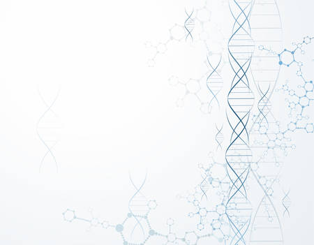 molecular dna structure particles. Scientific Concepts and Vector