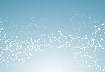 Molecules dna Concept of neurons medical  system vector