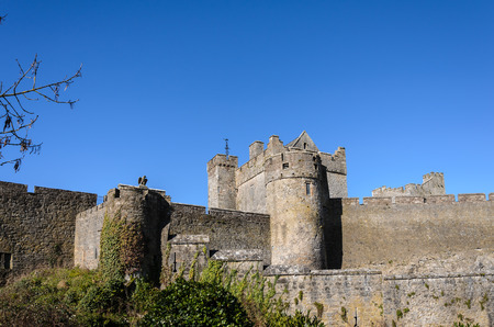 county tipperary: This is the Cahir Castle in County Tipperary in Ireland.