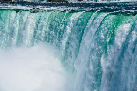 part of the Niagara Horseshoe Falls in Ontario, Canada. Stok Fotoğraf