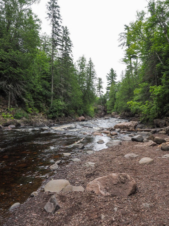 minnesota: This is part of Cascade River State Park in Minnesota.
