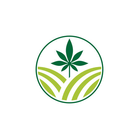 eco-farm and rural country, vector design. Farm industries and agronomy, illustration, Logo for the agricultural industry