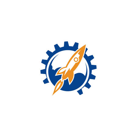 Rocket Logo available in vector, Fast rocket into space logo, Rocket Vector logo template, rocket - space ship logo template, Cloud rocket logo template