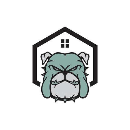 Dog Love, Dog Logo Template. Vector Illustrator. Dog logo and icon design vector., logo design for dog walking, training or dog-related business,  Dog Logo. Vector illustration. Simple, Veterinary Logo. Isolate vector illustration.