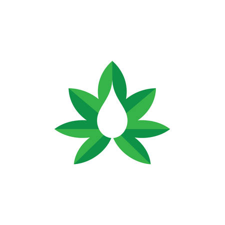 Marijuana leaf, Medical cannabis, Hemp oil, cannabis or marijuana leaf logo