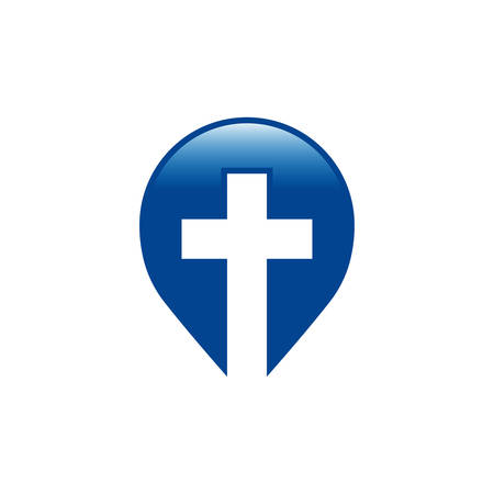 Church icon design Template for churches and Christian organizations