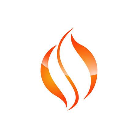 Fire flame Logo Template vector icon