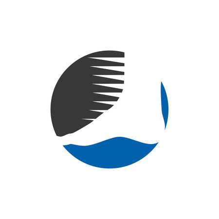 Foot Care logo designs vector, foot logo design template Ilustrace