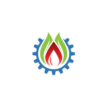 Gas and Oil Drill Construction logo designs