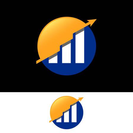Financial Accounting, Financial vector icon design template
