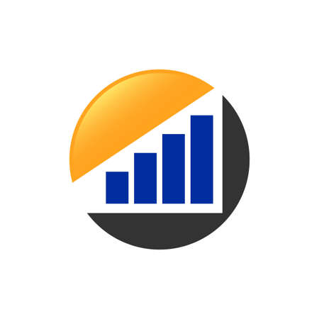 Financial Accounting,  Financial vector icon design template