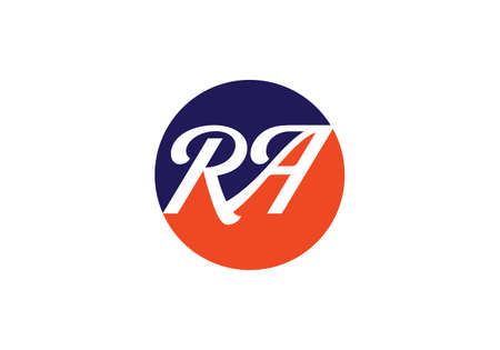 R A, RA Initial Letter Logo design vector template, Graphic Alphabet Symbol for Corporate Business Identity Logo
