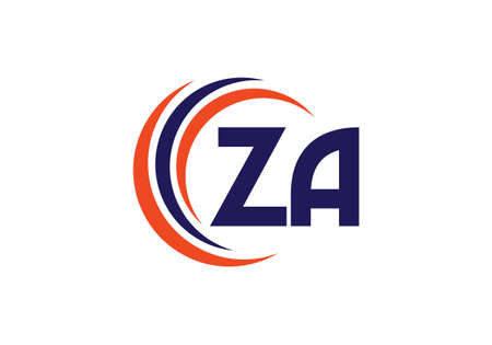 Z A Initial Letter Logo design vector template, Graphic Alphabet Symbol for Corporate Business Identity Logo