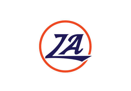 Z A Initial Letter Logo design vector template, Graphic Alphabet Symbol for Corporate Business Identity