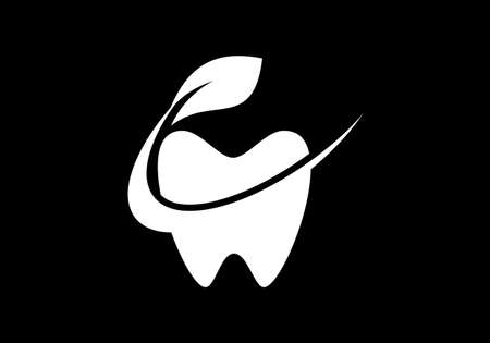 Dental Clinic logo template, Dental Care logo designs vector, Tooth Teeth Smile Dentist Logo  イラスト・ベクター素材