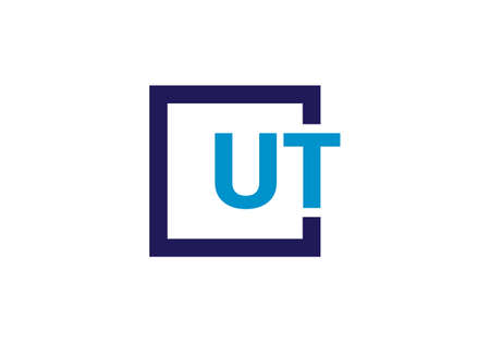 Initial Monogram Letter U T Logo Design Vector Template. UT Letter Logo Design Banque d'images - 146562118