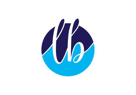 Initial Monogram Letter LB Logo Design Vector Template. L B Letter Logo Design